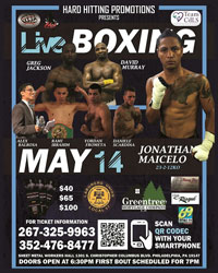 Upcoming Philadelphia Boxing Events