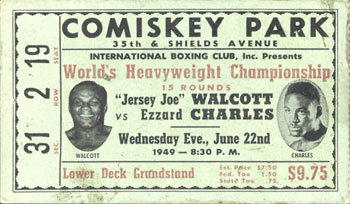 Philly boxing history boxing tickets 1940s - Louis ck madison square garden december 14 ...