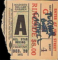 Philly boxing history boxing tickets 1950s - Louis ck madison square garden december 14 ...